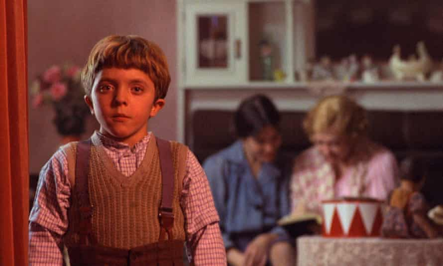 David Bennent as Oskar Matzerath in the 1979 film adaptation of The Tin Drum.