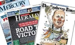 Fairfax regional newspapers
