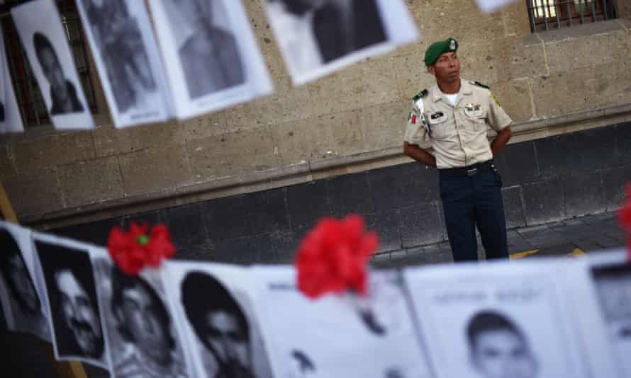 The data on hidden graves nationwide was released to coincide with the International Day of the Victims of Enforced Disappearances.