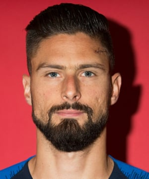 Head shot of footballer Olivier Giroud
