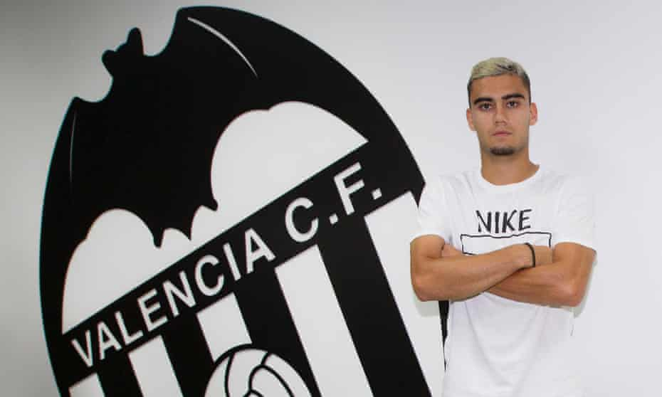 Andreas Pereira is on loan at Valencia, having spent last season on loan at Granada, but sees his future as very much at Manchester United.