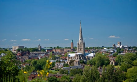 Norwich had the highest proportion of respondents in England and Wales reporting 'no religion'.