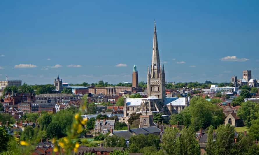 The Norwich skyline.