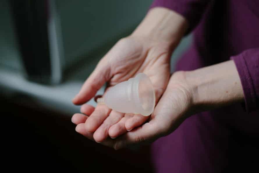 A menstrual cup