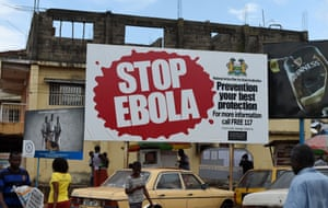 Billboard: 'Stop Ebola. Prevention is your best protection'