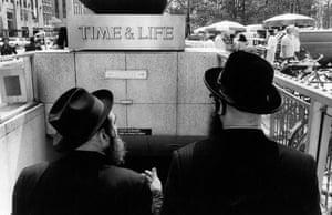 Dois homens judeus, 1980.
