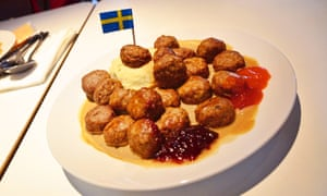 'Swedish' meatballs, as sold at Ikea.