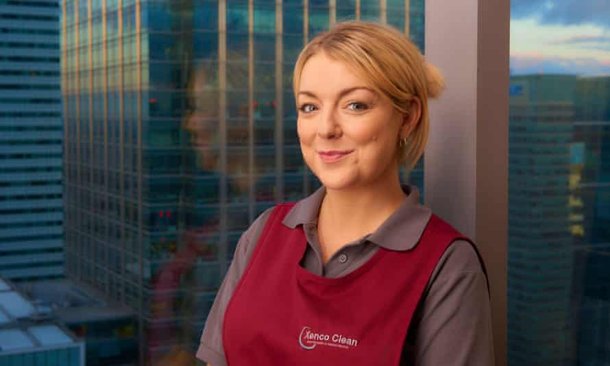 Sheridan Smith as Sam in Cleaning Up.