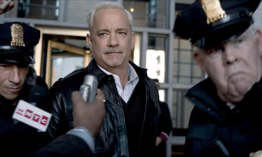 … Tom Hanks as Chelsey Sullenberger in Sully.