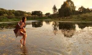 The Oeiras river at Morgadinho