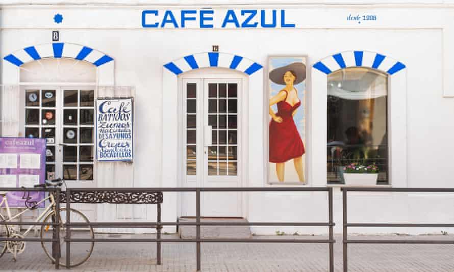 Cafe Azul, Tarifa, Spain