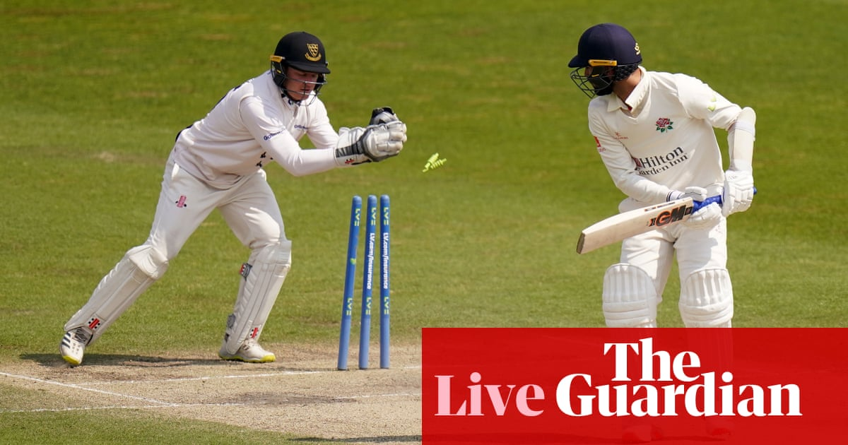 Yorkshire beat Northamptonshire by one run: county cricket – as it happened