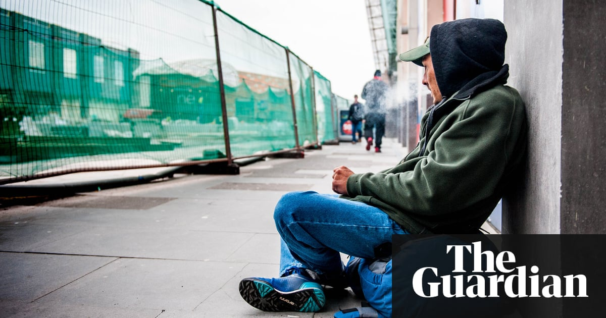 Plan to criminalise rough sleeping in Newport city centre dropped | UK news  | The Guardian