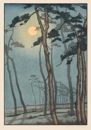 Yoshijiro Urushibara (1888–1953) The Pines c. 1928