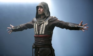 Michael Fassbender in the 'surprisingly dull' Assassin's Creed.