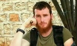 Screengrab from video purporting to show Abdulvakhid Edelgireyev