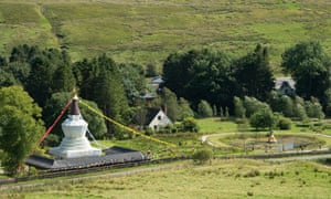 Kagyu Samye Ling, in the village of Eskdalemuir, is the largest Buddhist monastery and Tibetan centre in the western world.
