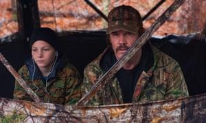 Montana Jordan and Josh Brolin in The Legacy of a Whitetail Deer Hunter.