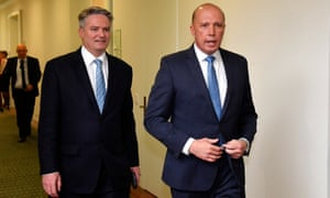 Mattias Cormann switched his support to Peter Dutton on Thursday, resigning from Malcolm Turnbull's cabinet as finance minister.