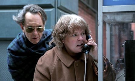 Real chemistry … Richard E Grant and Melissa McCarthy in Can You Ever Forgive Me?