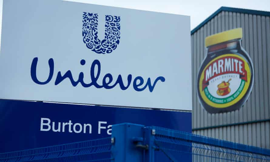 Unilever's Burton-upon-Trent factory in the UK where Marmite is produced.