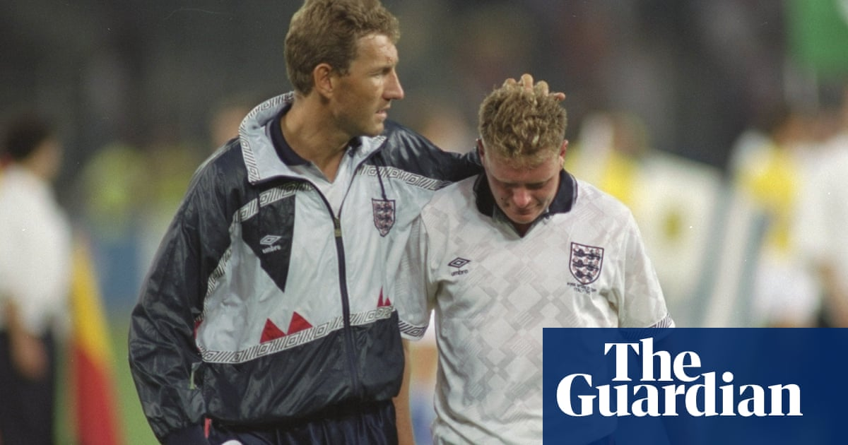 86ec33ced World Cup stunning moments  Gazza cries as England lose at Italia 90 ...