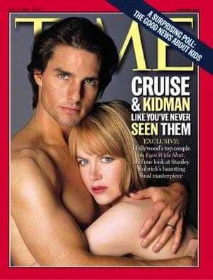 July 6 1999 Time magazine cover - A photo of Tom Cruise and Nicole Kidman appears on the cover of the new issue of TIME magazine.