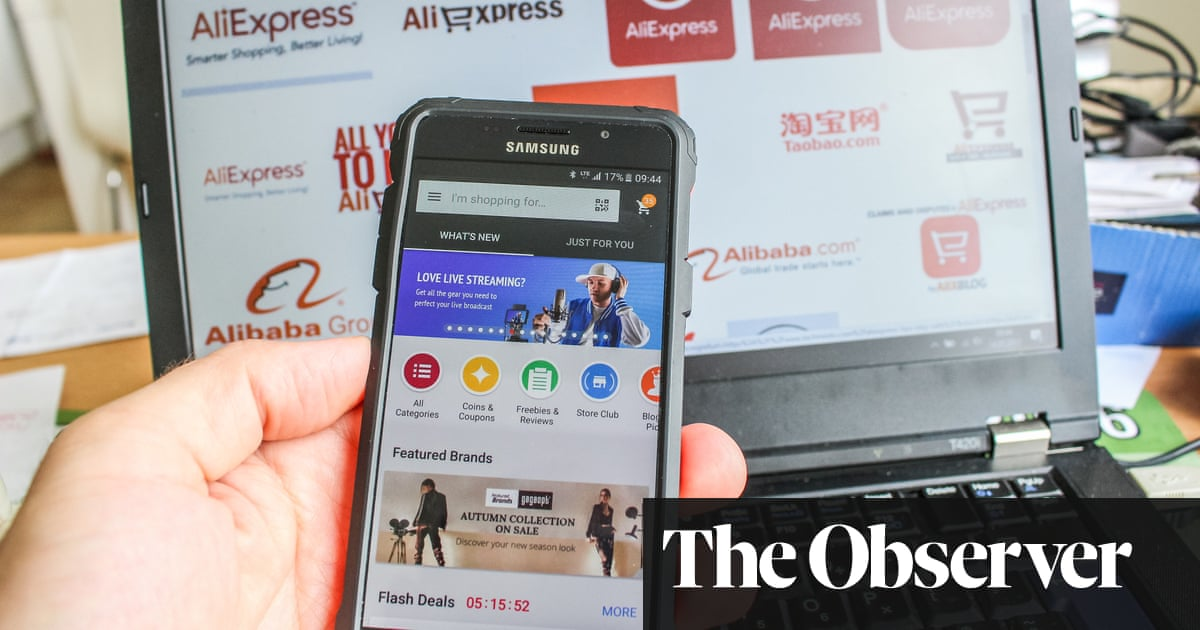 564853f2f6a Is buying online from China a good idea? | Money | The Guardian