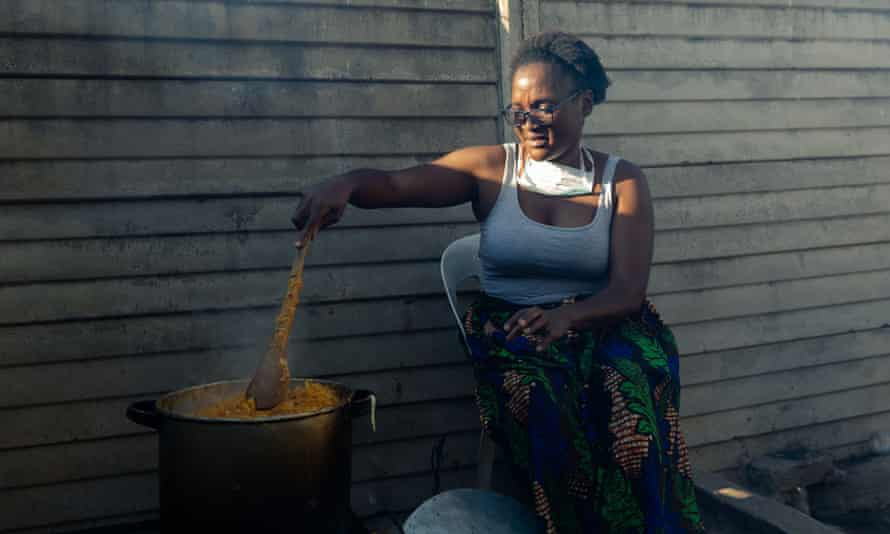 Samantha Murozoki started the food programme after learning that neighbours were going hungry under lockdown.