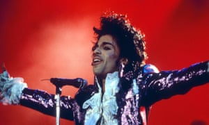 prince in concert 1985
