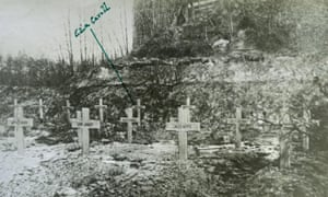 Edith Cavell's grave in France