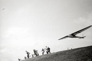From the series: Rhön. Glider flight, 1931