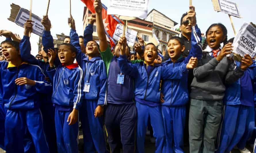Demonstrating students