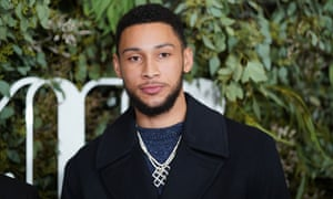 Ben Simmons is visiting Australia after a successful season in the NBA
