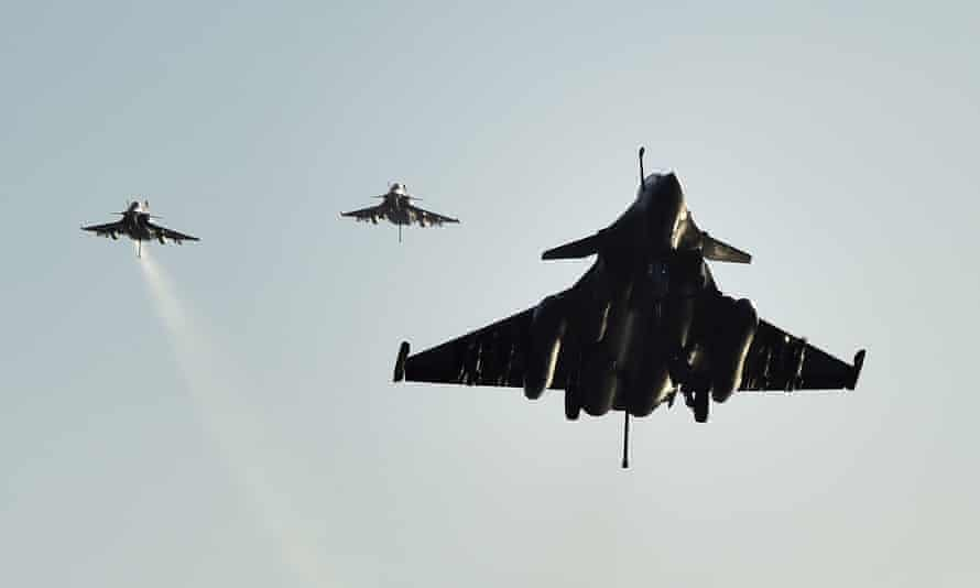 French Rafale fighter aircrafts