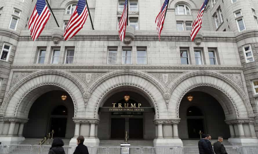 Two attorneys general from the District of Columbia and Maryland have filed lawsuits arguing the Trump International Hotel in Washington.