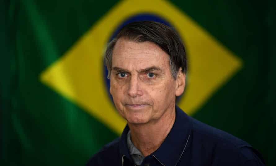 Jair Bolsonaro in Rio de Janeiro.