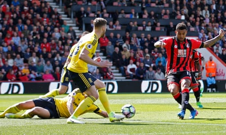 Joshua King strike sets the tone as Bournemouth batter Middlesbrough