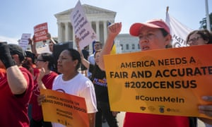 A New York judge ruled the justice department would not be allowed to replace nine lawyers to take over census-related cases.