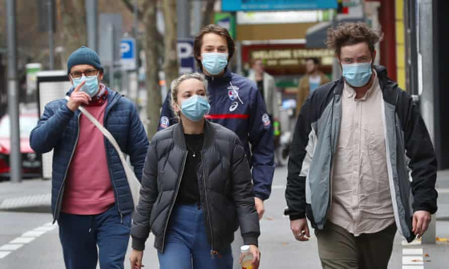 Australia's about-face on masks and Covid-19: why our health advice was  late to the party | Health | The Guardian