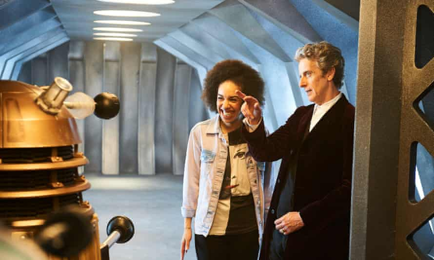 Perfect companion: with Peter Capaldi as the Doctor.