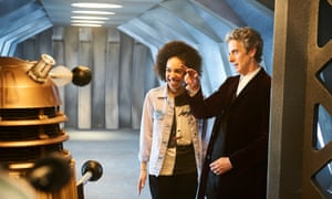 Pearl Mackie with Peter Capaldi