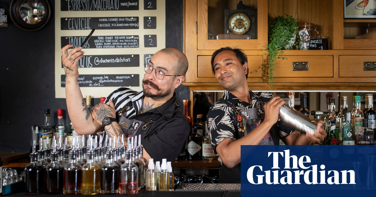 Rhik Samadder tries … cocktail making: 'I make a naked and famous – and feel stirred, not shaken'