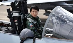 First Lieutenant Misa Matsushima of the Japan Air Self Defence Force.
