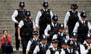 Boris Johnson has pledged to hire 20,000 more police officers.