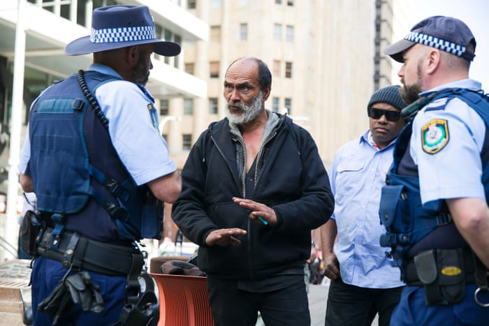 on sale ead5d 5ae07 Sydney s homeless tent city taken down after new law comes into force    Australia news   The Guardian