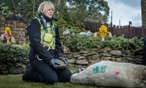 'Sarah Lancashire deserves every award going' … Happy Valley.