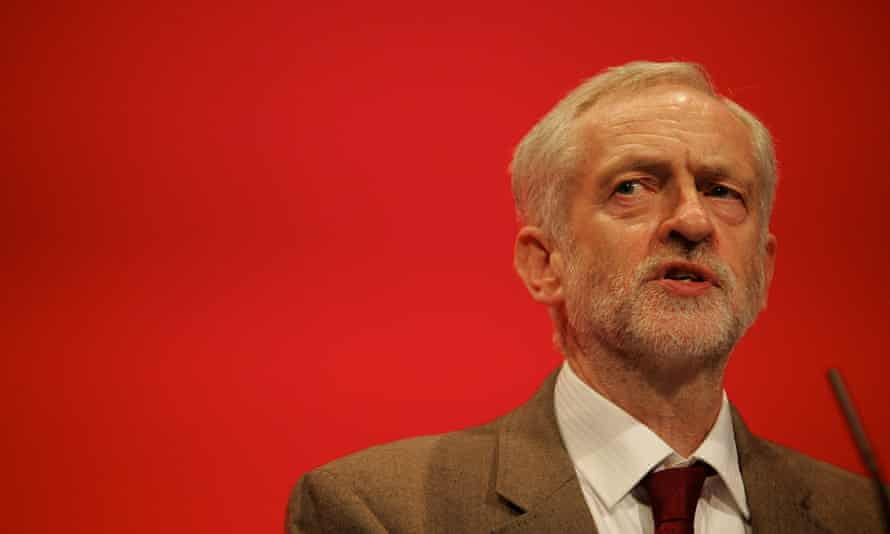 UK: Labour leader Jeremy Corbyn delivers speech at party conference