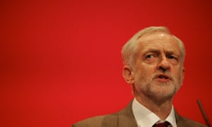 Labour leader Jeremy Corbyn delivers speech at party conference