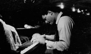 McCoy Tyner performing in Chicago in the 1970s.